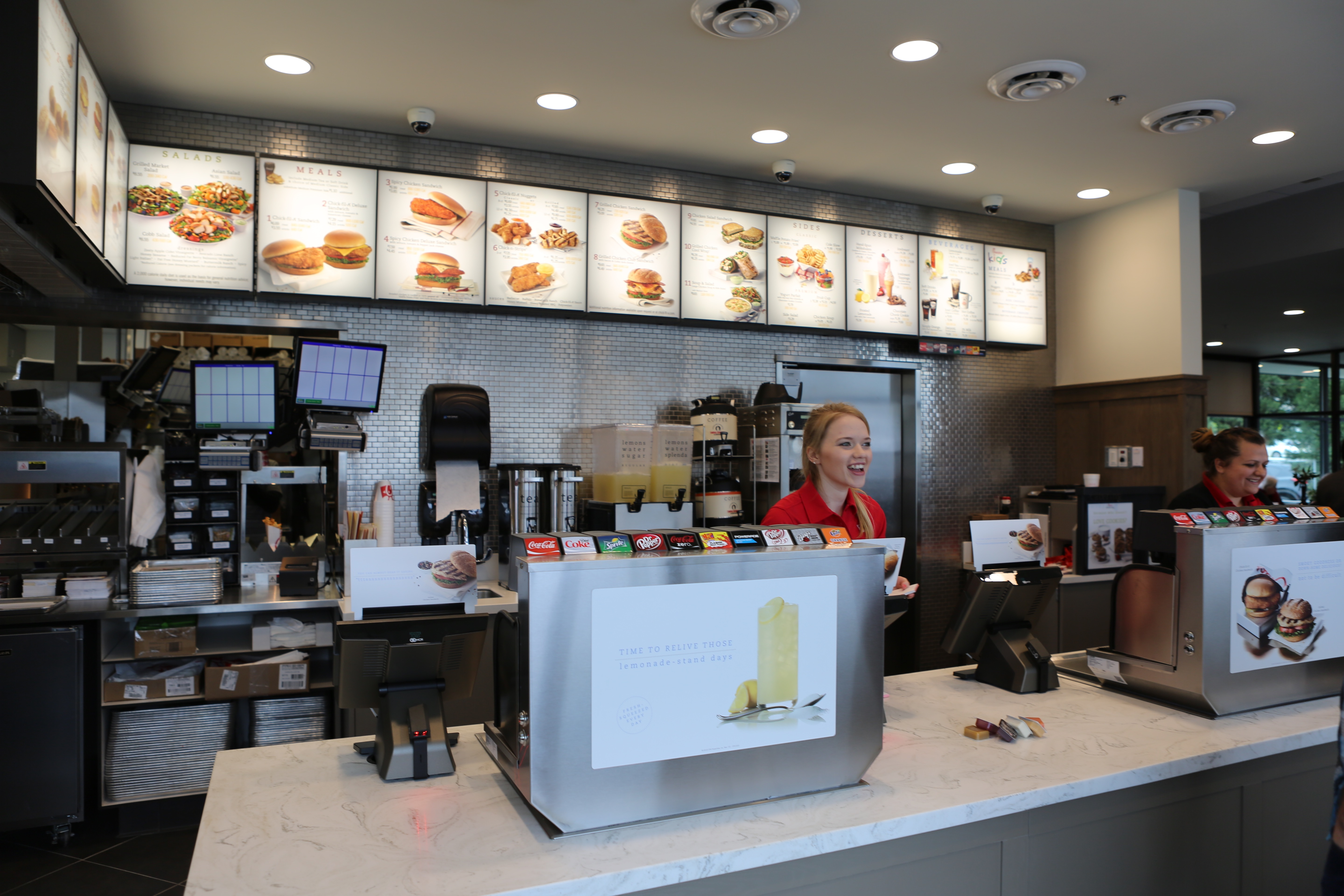 Chick-Fil-A Register Area