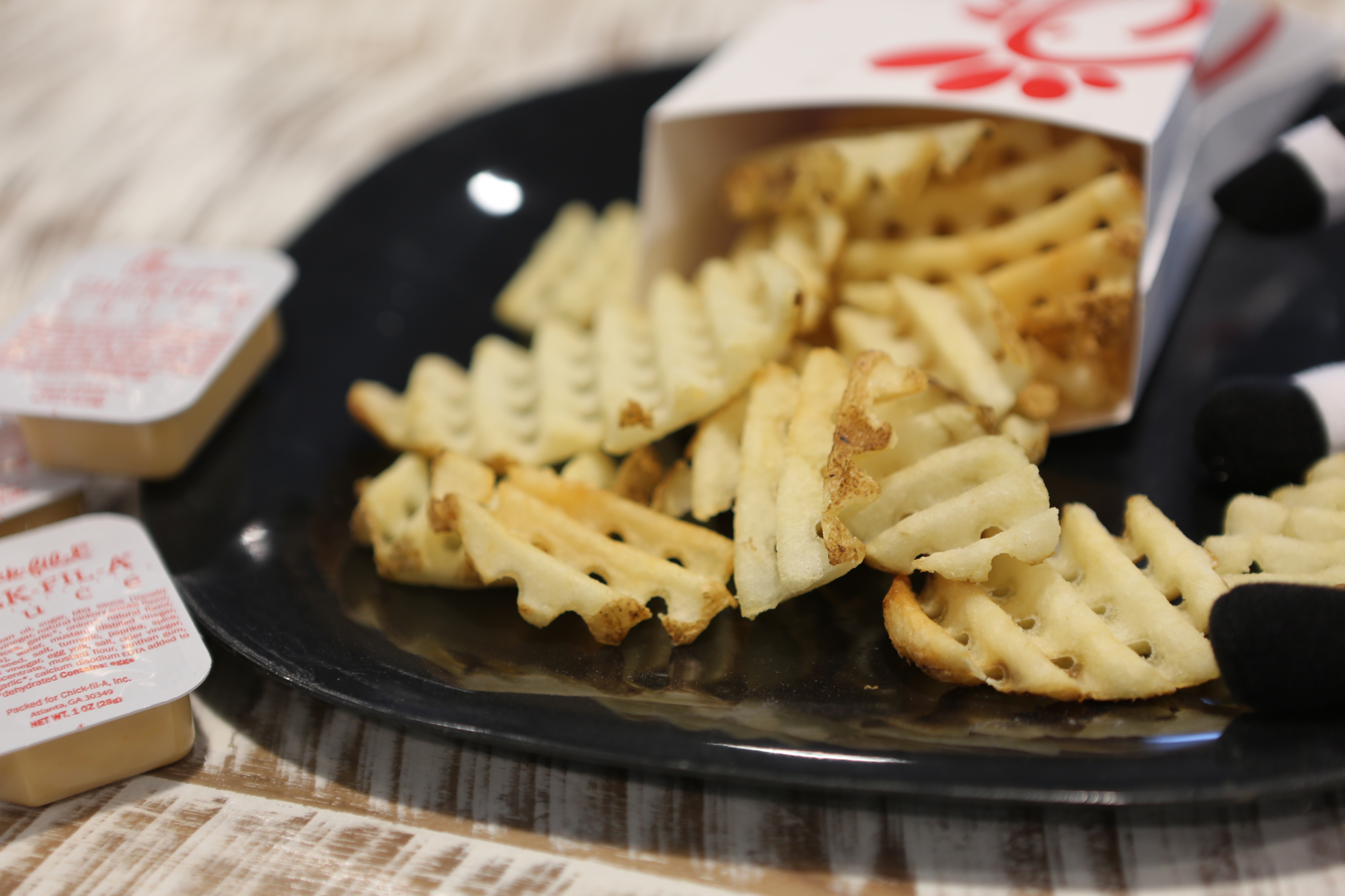 Famous waffle fries