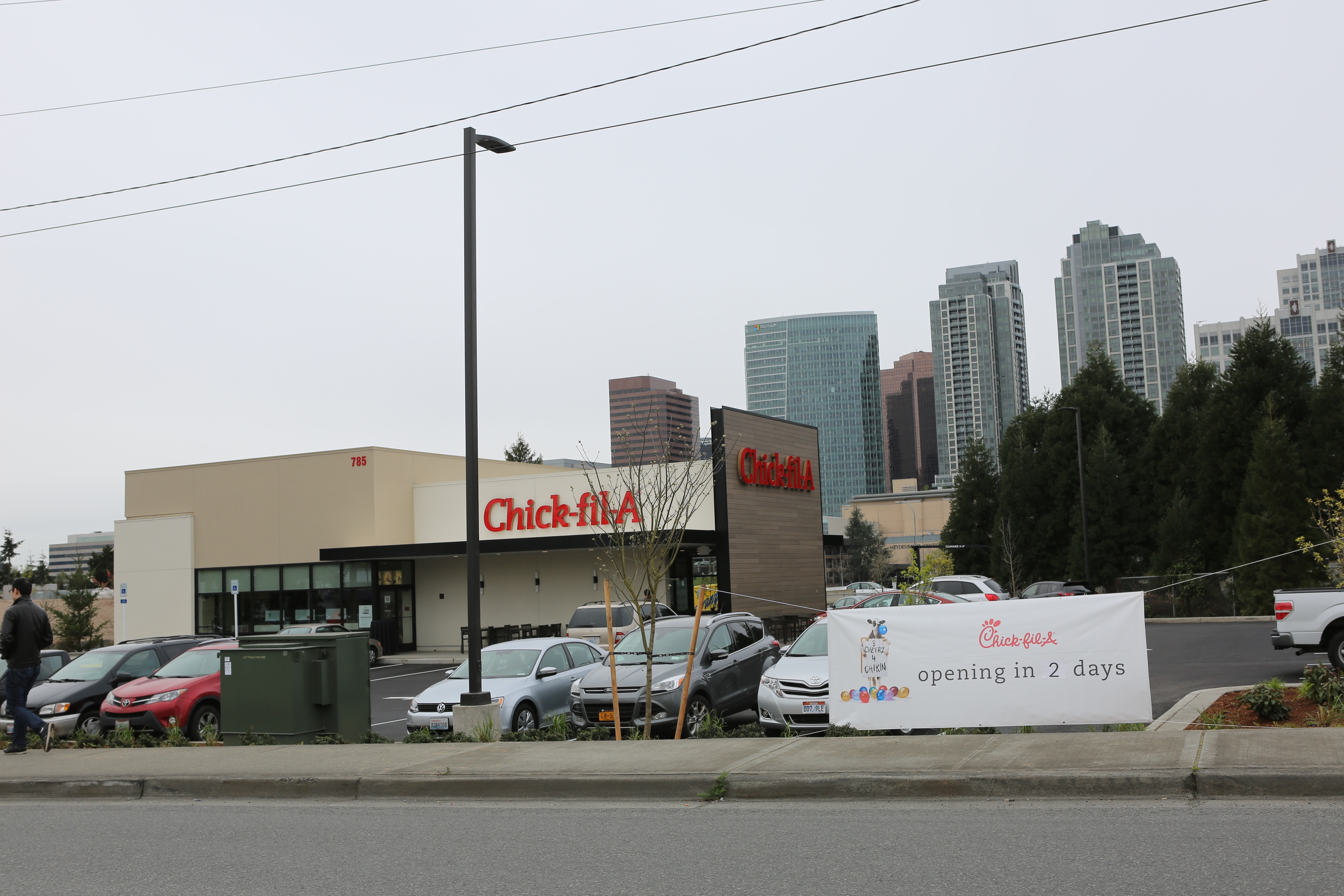 Exterior Photo of Chick-Fil-A