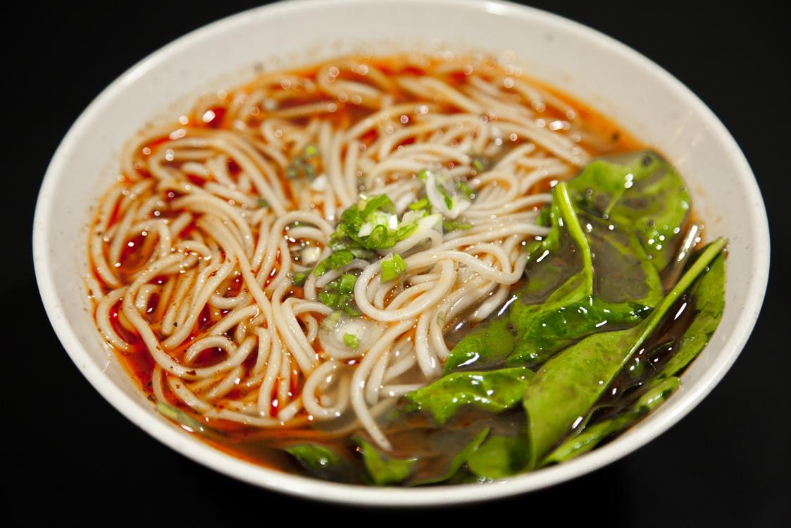 Spicy soup noodles