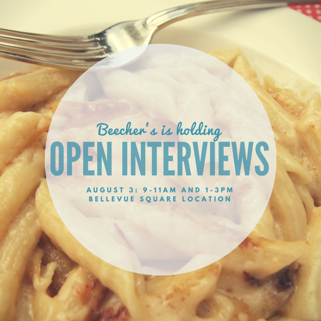 beechers open interviews